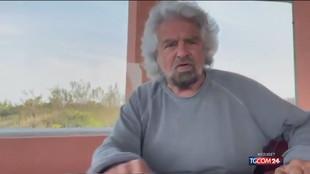 """Beppe Grillo: """"Mio figlio non è uno stupratore, arrestate me"""""""