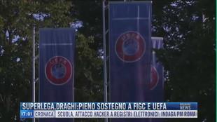 Breaking News delle 17.00 | Superlega, Draghi: pieno sostegno a Figc e Uefa