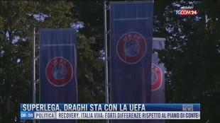 Breaking News delle 09.00   Superlega, Draghi sta con la Uefa