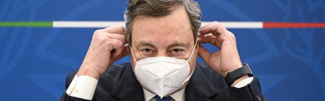 """Draghi avverte: """"Ristrutturare la sanità, non si sa quanto durerà la pandemia né quando arriverà la prossima"""""""