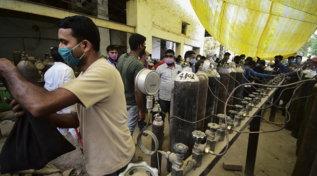India, code chilometriche per ricaricare le bombole d'ossigeno