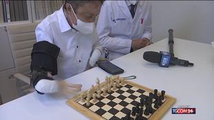"""Torino, ecco la mano """"bionica"""": è la prima al mondo"""