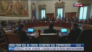 Breaking News delle 16.00 | Oggi Cdm sul Dl Covid: scontro sul coprifuoco