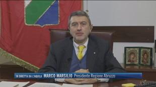 """Marco Marsilio presidente regione Abruzzo: """"Il danno della pandemia non è stato compensato"""""""