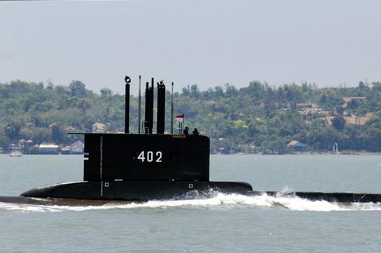Ilsottomarino KRI Nanggalascomparso in Indonesia