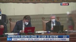 Breaking News delle 12.00 | Approvato decreto Covid, la Lega si astiene