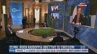 Breaking News delle 17.00 | Clima, Biden raddoppia obiettivo su emissioni