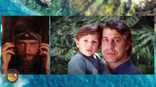 """""""L'Isola dei Famosi"""", Gilles si commuove per la sorpresa del padre"""