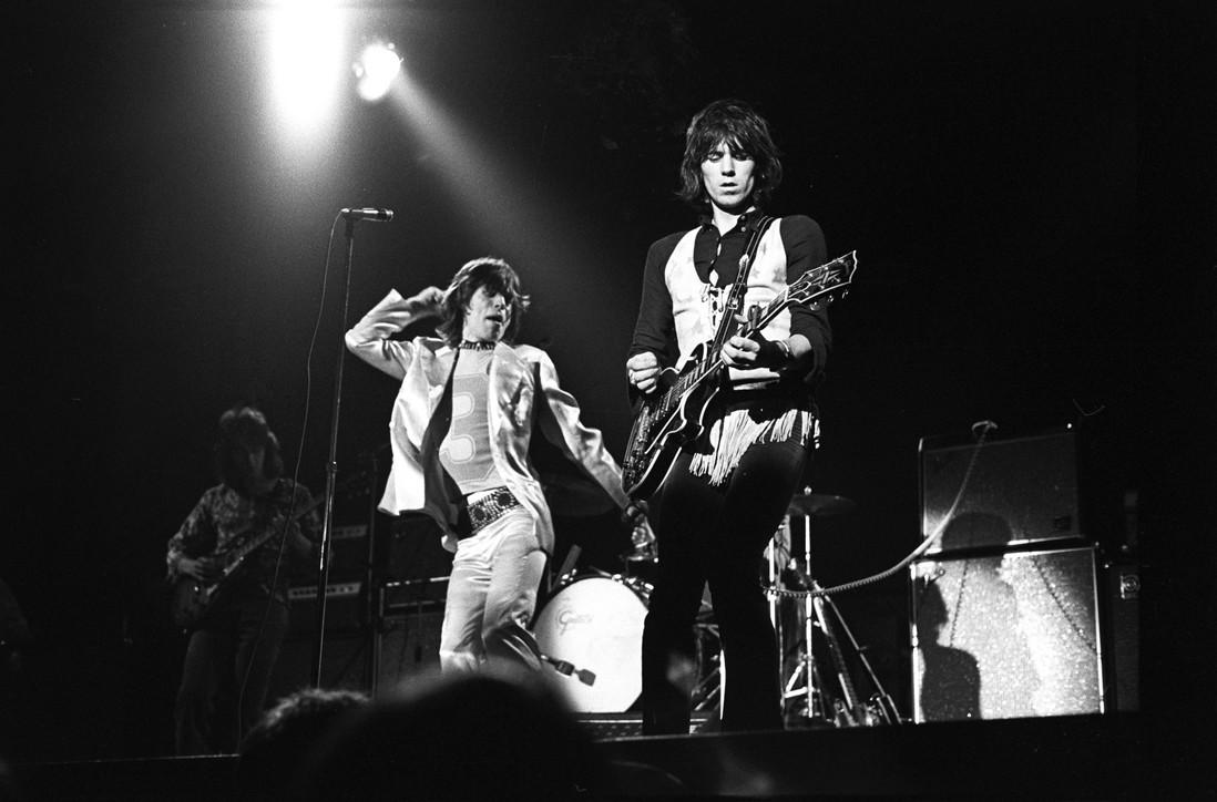 """Rolling Stones, il tour di """"addio alla Gran Bretagna"""" del 1971"""