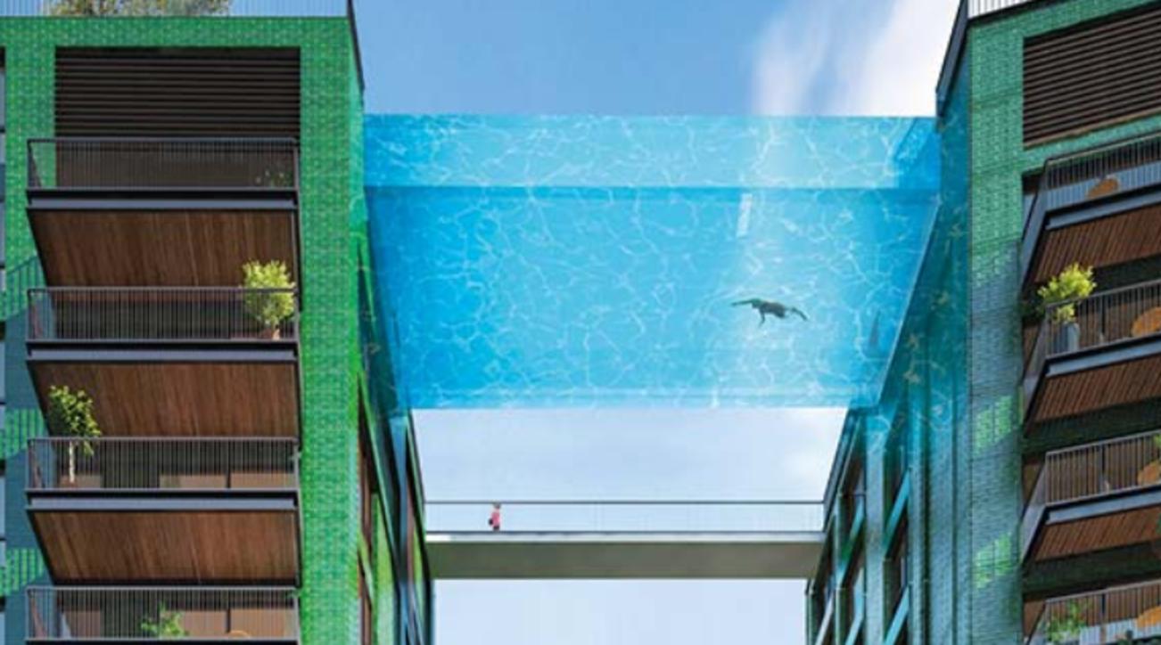 Londra, ecco la prima piscina sospesa del mondo: nuotare sarà come fluttuare
