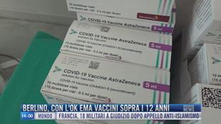 Breaking News delle 14.00 | Berlino con l'ok EMA vaccini sopra i 12 anni