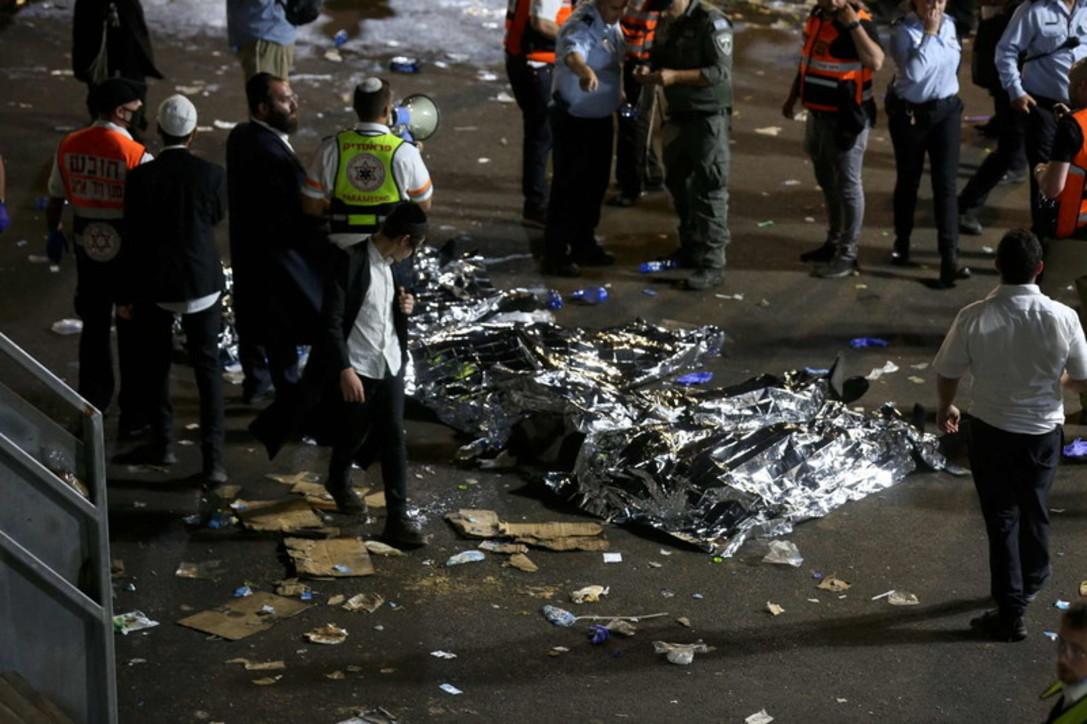 Incidente in Israele durante un raduno religioso: decine di morti