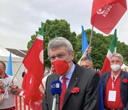Primo maggio, Cgil-Cisl-Uil in piazza