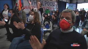 Primo Maggio, manifestazione del lavoratori Whirlpool