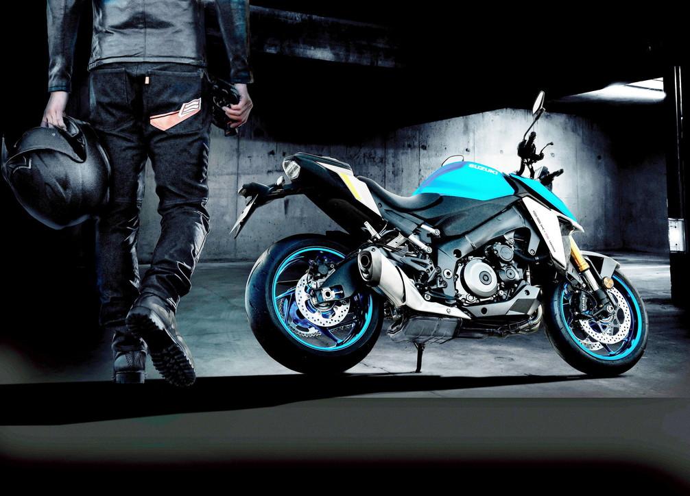 La street-fighter Suzuki ora Euro 5