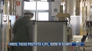 Breaking News delle 21.30 | Virus, tasso positività 4,9%, boom di guariti