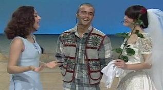 """Quando Antonella Mosetti annunciò le nozze a """"Non è la Rai"""""""