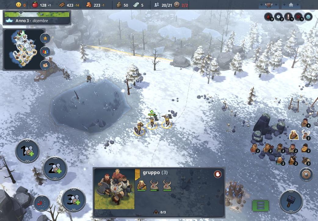 Northgard, le immagini dello strategico a sfondo norreno