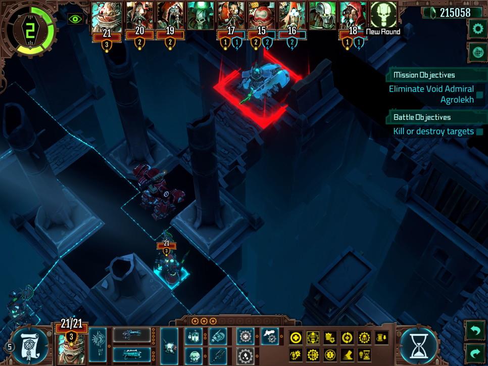 Warhammer 40K: Mechanicus, le immagini della versione iPad
