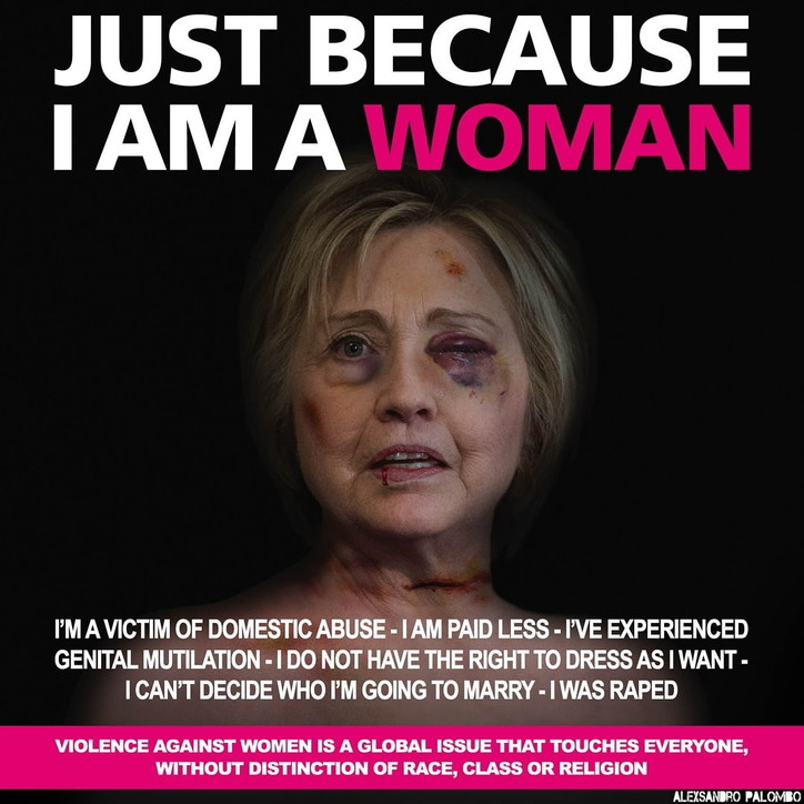 """Just Because I Am a Woman"", la campagna di Alexsandro Palombo"