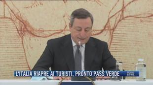 Breaking News delle 21.30 | L'Italia riapre ai turisti, pronto pass verde