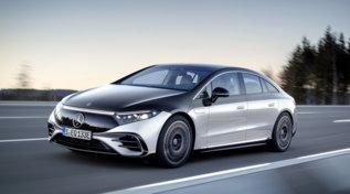 Elettrica e aerodinamica, Mercedes EQS