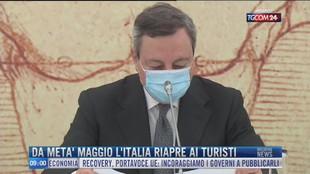 Breaking News delle 09.00 | Da metà maggio l'Italia riapre ai turisti