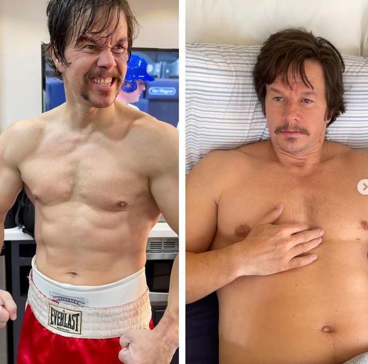 Mark Wahlberg, che trasformazione!
