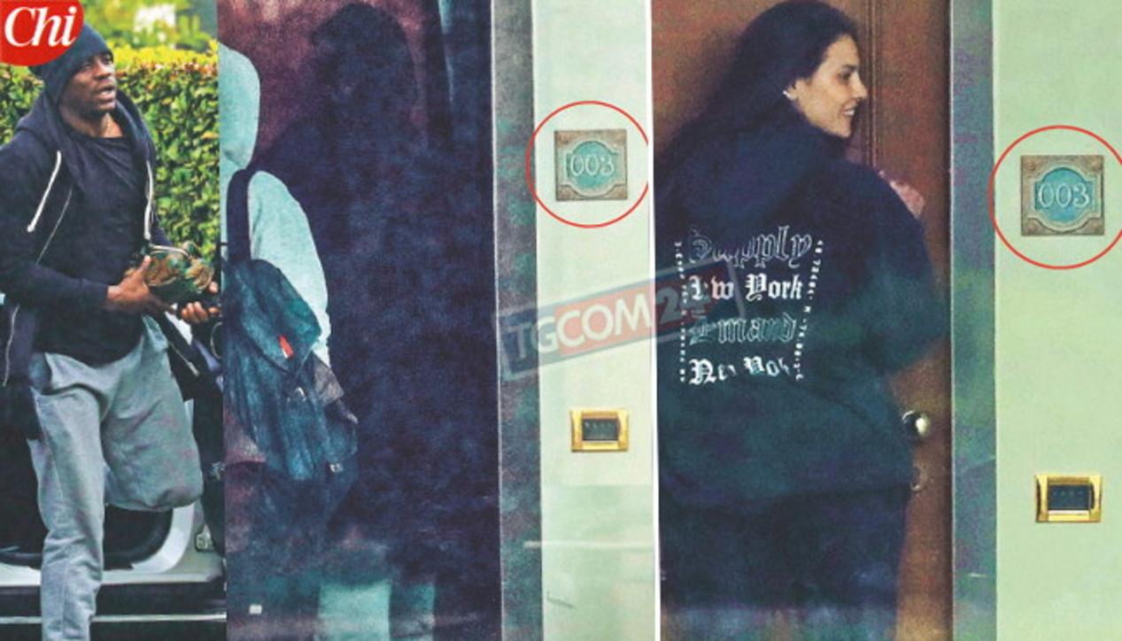 Balotelli e Dayane Mello beccati dai fotografi: fanno ancora coppia