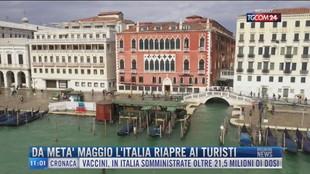 Breaking News delle 11.00 | Da metà maggio l'Italia riapre ai turisti