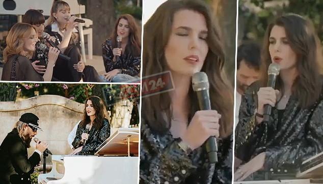 Charlotte Casiraghi debutta alla sfilata come… cantante