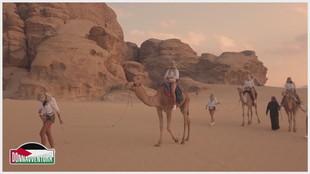 Il deserto rosso del Wadi Rum