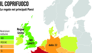 Coprifuoco in Europa: ecco come sono le chiusure negli altri Paesi
