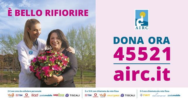Fondazione Airc promuove la giornata delle sue Azalee