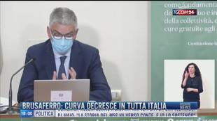 Breaking News delle 18.00 | Brusaferro: curva decresce in tutta Italia