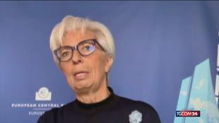 """Lagarde: """"La reazione dell'Europa alla pandemia è stata impressionante"""""""
