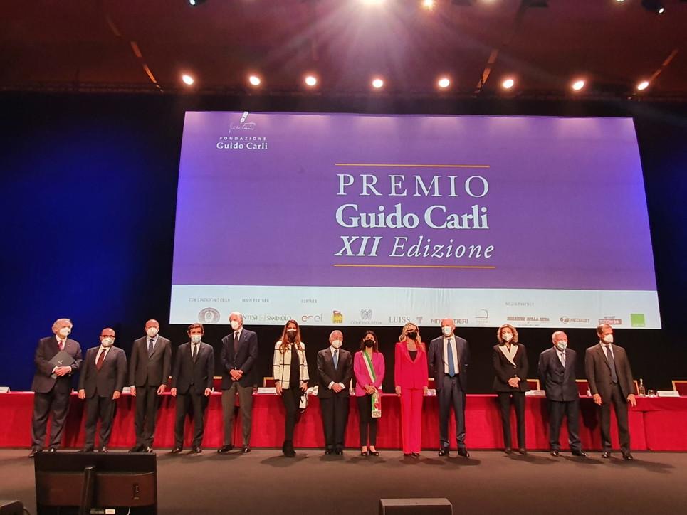 Premio Guido Carli, tutte le foto della dodicesima edizione