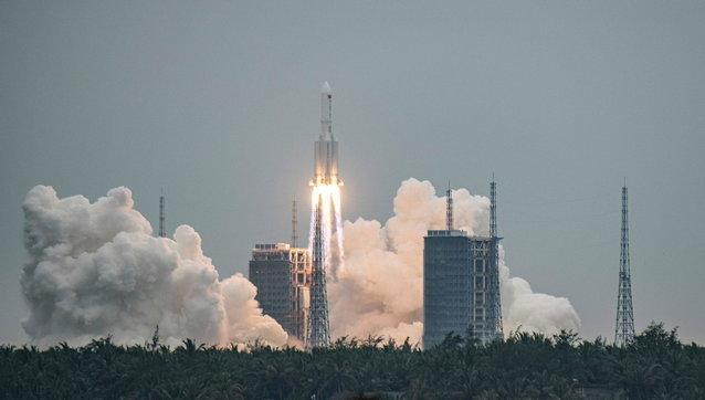 cina, spazio, razzo, stazione orbitante, modulo tianhe, razzo long march 5b