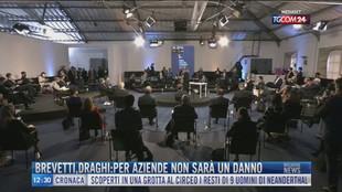 Breaking News delle 12.00 | Brevetti, Draghi: per aziende non sarà un danno