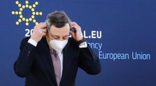 Ue, Mario Draghi al Consiglio informale in Portogallo