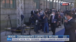 Breaking News delle 17.00 | Draghi: coordinamento europeo su welfare