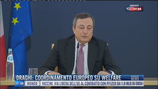 Breaking News delle 18.00 | Draghi: coordinamento europeo su welfare