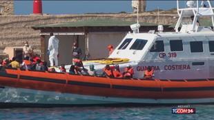 Migranti, nuova ondata di sbarchi a Lampedusa