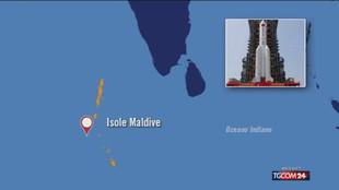 Il razzo cinese è rientrato nell'atmosfera sull'Oceano Indiano, allarme cessato