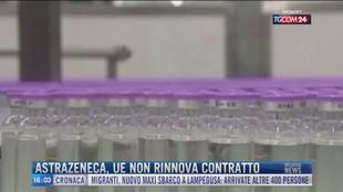 Breaking News delle 16.00 | AstraZeneca, Ue non rinnova contratto