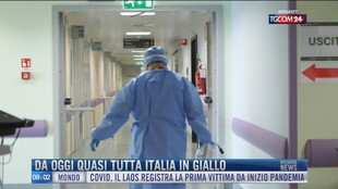 Breaking News delle 09.00 | Da oggi quasi tutta Italia in giallo