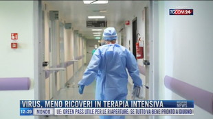 Breaking News delle 12.00 | Virus, meno ricoveri in terapia intensiva