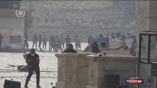 Gerusalemme, nuovi incidenti sulla Spianata delle Moschee