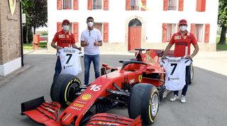 CR7 in visita a Maranello, ma non tutti i tifosi la prendono bene...