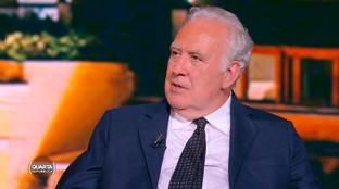 """Michele Santoro: """"La statura di Berlusconi è fuori discussione"""""""